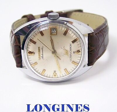 Vintage  LONGINES ULTRA-CHRON Mens Automatic Watch Cal 431 1960s* EXLNT SERVICED