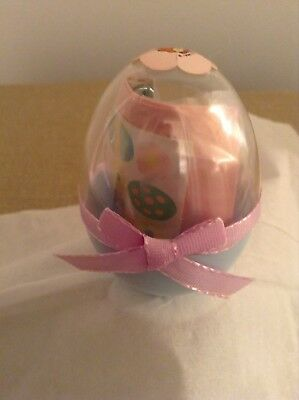 Lucy Rigg - Enesco Lucy And Me Bears - Easter - 1 Plastic Egg W/items Inside