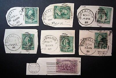 USA Old Postmarks - Buffalo NY 1880,s / 90,s ... Add to your collection