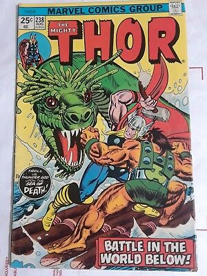 Thor comics lot from 1975-1978