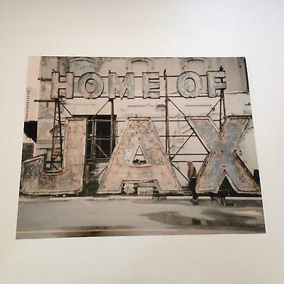 Jax Beer Sign Photo New Orleans Louisiana 8X10 Historical French Quarter Brewery