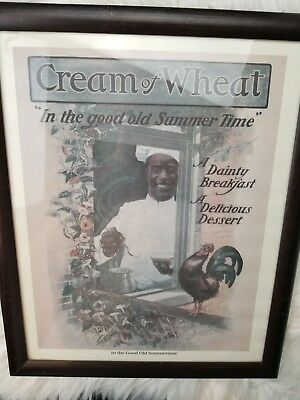 Original 1912 In the Good Old Summertime Cream of Wheat advertisement print