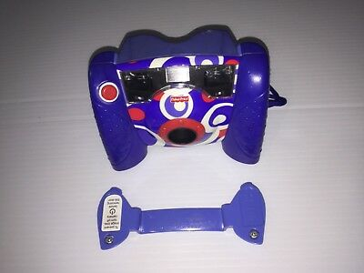 Fisher Price Kid Tough Digital Camera Blue. Works Great. FREE SHIPPING