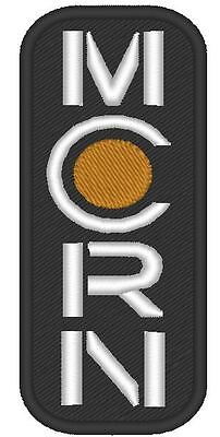 "E0027 Tv/movie Patch The Expanse - ""mcrn Logo "" Patch Embroidered Vertical"