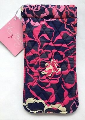 Vera Bradley NWT Sunglass Sleeve in Katalina Pink Free Shipping