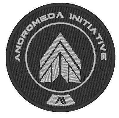 E0012 Game - Cosplay Patch  Mass Effect Andromeda Initiative Apex Embroidered