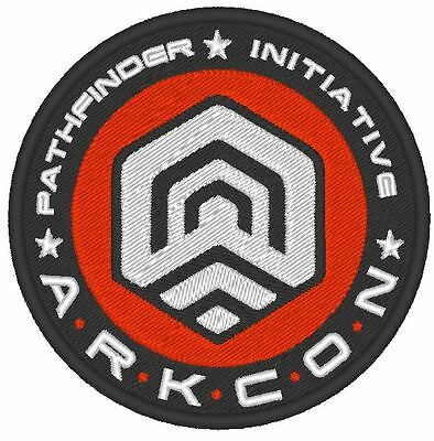 E0011 Game - Cosplay Patch  Mass Effect Andromeda Pathfinder Embroidered Arkcon