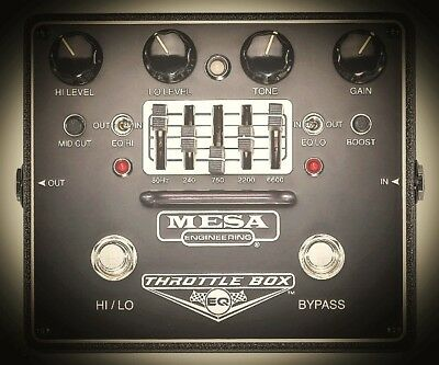 Mesa Boogie Mesa Boogie - Throttle Box EQ Distortion