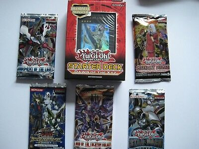 5 BOOSTER + Starter Deck Dawn of the Xyz Legendary Duelists Star Pack Yu-Gi-Oh