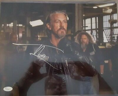 TOMMY FLANAGAN Signed Auto 11x14 PHOTO JSA COA AUTOGRAPH SONS OF ANARCHY SOA