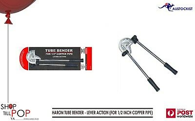 Haron Tube Bender - Lever Action (For 1/2 Inch Copper Pipe) Bnib Sealed