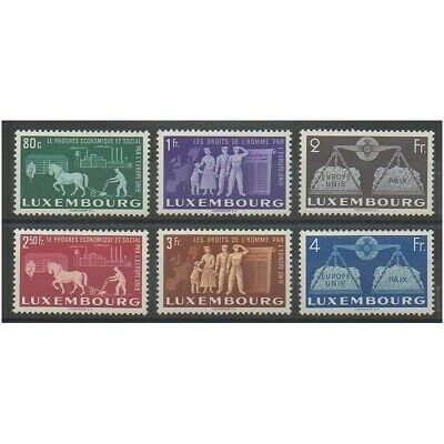 Luxembourg - 1951 - No 443/448 - Europe