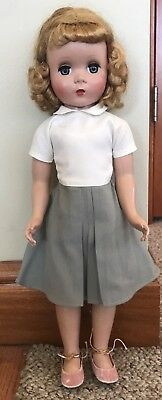 "Vintage Madame Alexander 17"" Doll with Tagged Outfit"