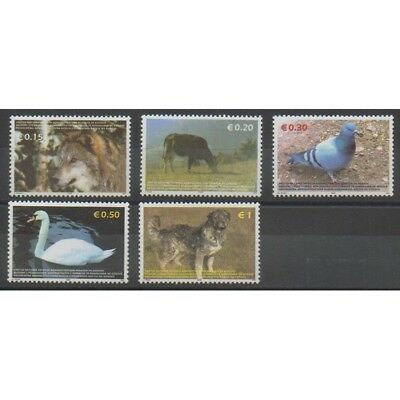 Kosovo -  Administration des Nations Unies - 2006 - No 45/49 - Chiens - Animaux
