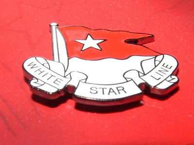 Titanic-Pin - White Star Line - Gifts from the Birthplace of Titanic