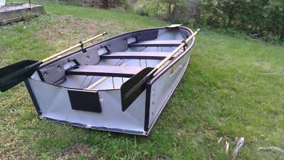 Folding Boat With New Motor 10 Foot