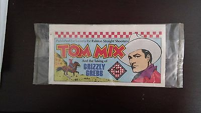 TOM MIX THE TAKING OF GRIZZLY GREBB  PROMO RALSTON PURINA SEALED free ship