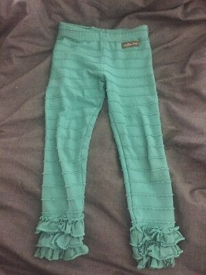 Matilda Jane Size 4 Once Upon a Time Near The Woods Leggings Pants Some Pilling