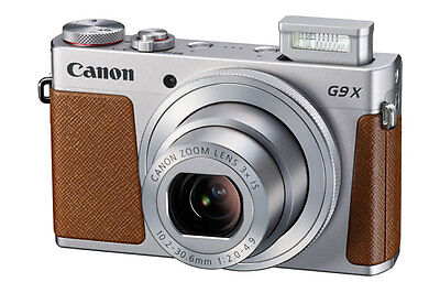 New Canon PowerShot G9X Mark ii Digital Camera(silver),Great Quality Camera Case