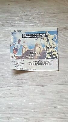 FA Cup Final Ticket Stub - 1993 - Arsenal v Sheffield Wednesday