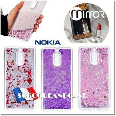Etui Coque Housse Silicone Paillettes Dynamic Glitter Cover Nokia 3 ou 6 (2017)