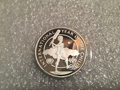 JAMAICA 10 Dollars 1979 Proof - Silver - Year of the Child