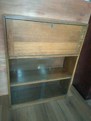 Oak Bureau Writing Desk