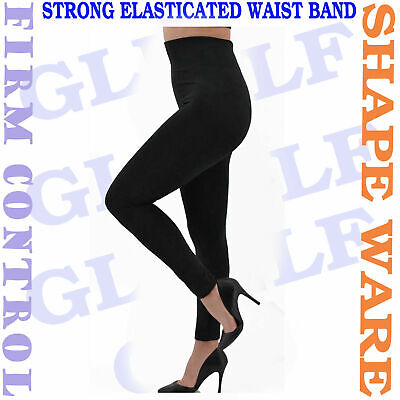 Slimming High Waisted Control Leggings  Extra Strong Firm Tummy Support,8-30