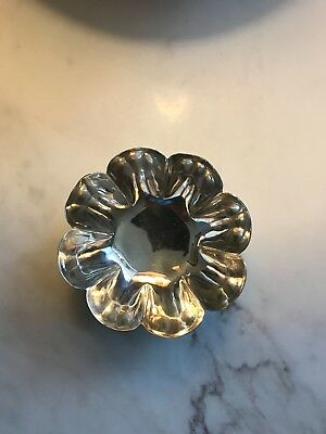 Fine Small Foooted Bowl Stamped Sterling 925 MRM Hecho en Mexico