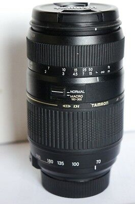 Tamron 70-300mm AF Di LD macro zoom lens for SONY A580 A350 A700 A550 A55 A33 A1
