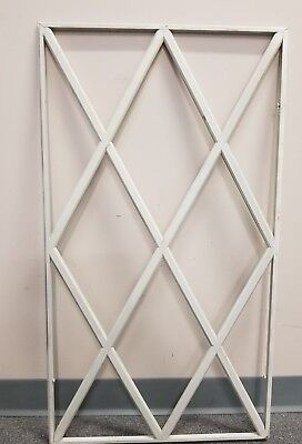 Wooden White 36×20 Window Or Small Door Frame With No Glass Primitive Decoration