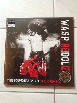 W.A.S.P. - The soundtrack to The Crimson Idol - !!! Gold Vinyl !!! mit DVD - OVP