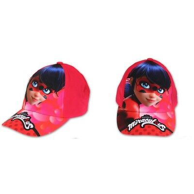 Casquette Miraculous Ladybug Taille 54 Disney rouge