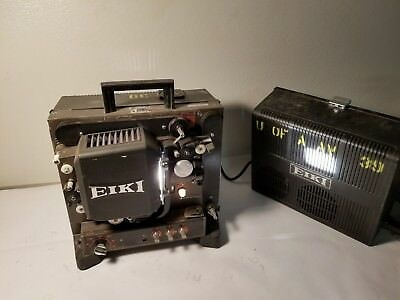 EIKI 16MM NT-0 FILM PROJECTOR ~ Working