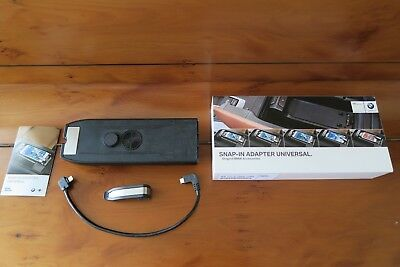Original BMW Snap In Adapter Connect Universal iPhone 8 7 6 5 Lightning Stecker