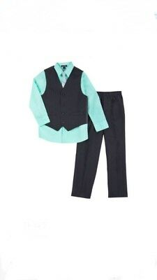 NWT George Light Green Boys Size Newborn, 4-Piece Dress Suit(Pic Enlarged)