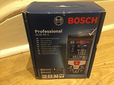 New Bosch Professional GLM 50 C Laser Measure