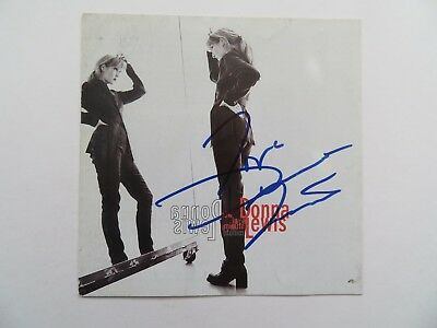 Signed Autograph CD Booklet Donna Lewis - Donna Lewis