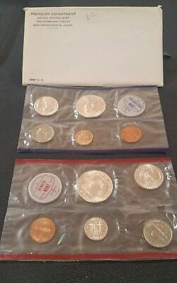1962 P&D US Mint Proof Set, uncirculated