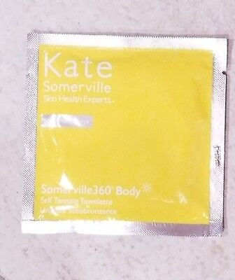 Kate Somerville 360 Skin Health Experts Self Tanning Towelette 1 Count New