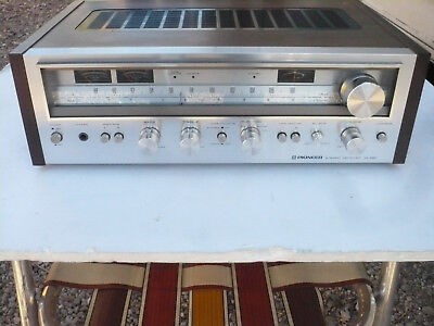 Classic Exceptionally Nice & Working Pioneer Sx-680 Stereo Receiver Phono Input