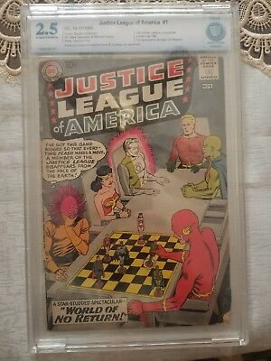 Justice League of America #1 (Oct-Nov 1960, DC) CBCS 2.5