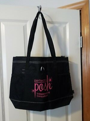 Perfectly Posh Independent Consultant Canvas Tote - NWT