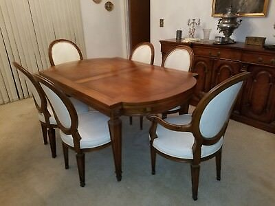 Dining Table, Chairs, Karges Manufacturer, Dining Sets, 2pullout table extension