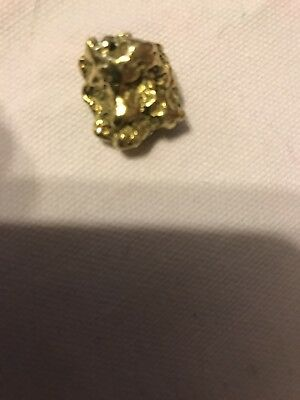 Gold nugget.  Alaskan Natural Gold Nugget 13.94 Grams 18K Plus Gold nuggets
