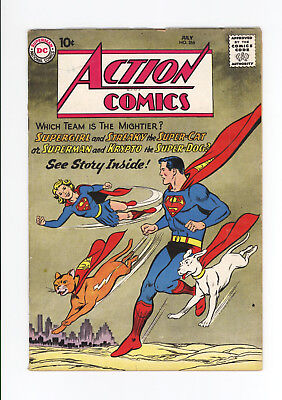 Action Comics #266 - Classic Cover, One Of The Best! - Supergirl, Streaky - 1960