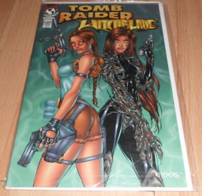 Tomb Raider Witchblade (1997) #1A...Published Dec 1997 by Top Cow