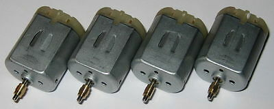 4X FC-280 Motors with Collar - Car Door Lock and Mirror Motors - FC-280PT-22125