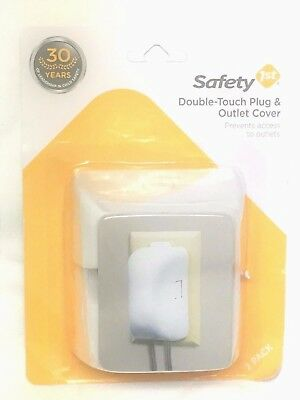Safety 1st Double Touch Plug & Outlet Cover  _ Set of 2