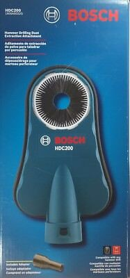 NEW BOSCH HDC200 SDS-Max Hammer Dust Collection Attachment FREE SHIPPING!